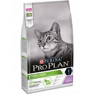 Корм для кошек Pro Plan Sterilised, 1.5 кг, курица и индейка