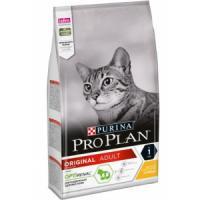 Фотография товара Корм для кошек Pro Plan Adult, 1.5 кг, курица с рисом