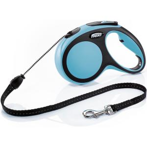 Рулетка для собак Flexi New Comfort M Cord, синий