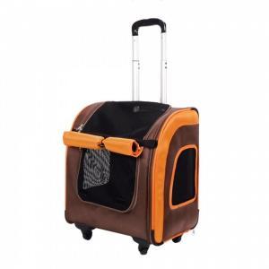 Сумка-переноска для животных Ibiyaya Liso, размер 40x31x44см., оранжевый