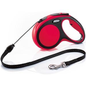 Рулетка для собак Flexi New Comfort M Cord, красный