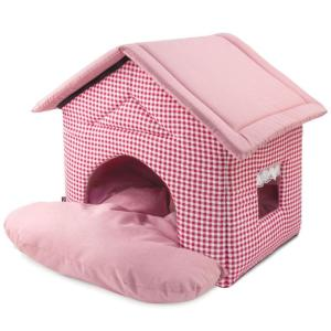 Домик для собак и кошек Triol Садовый, размер 46х50х45см., цвета в ассортименте
