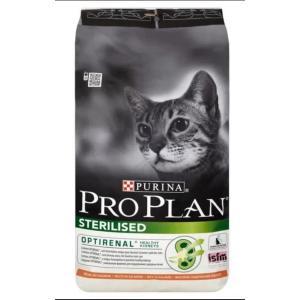 Корм для кошек Pro Plan Sterilised, 7 кг, лосось