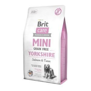 Корм для собак Brit Care MINI Yorkshire, 2 кг, тунец с лососем