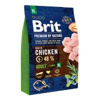 Фотография товара Корм для собак Brit Premium by Nature Adult XL, 3 кг, курица