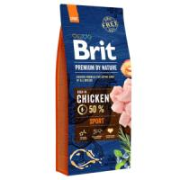 Фотография товара Корм для собак Brit Premium by Nature Sport, 15 кг, курица
