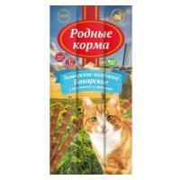 Фотография товара Лакомство для кошек Родные корма Баварские, кролик с печенью, 3 шт.