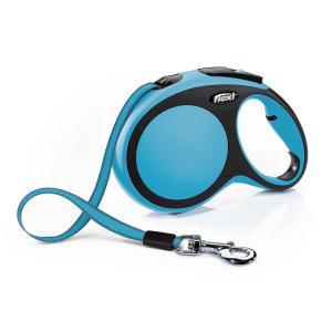 Поводок-рулетка для собак Flexi New Comfort M, синий