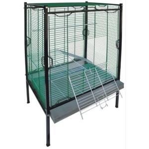Клетка для птиц Зоомарк, размер 75х55х160см., цвета в ассортименте