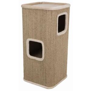 Домик-когтеточка для кошек Trixie Corrado, размер 48х48х100см.