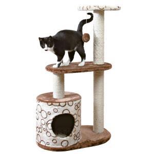 Домик когтеточка для кошек Trixie Casta, размер 55х35х95см., коричневый
