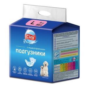 Подгузники для собак и кошек Cliny L