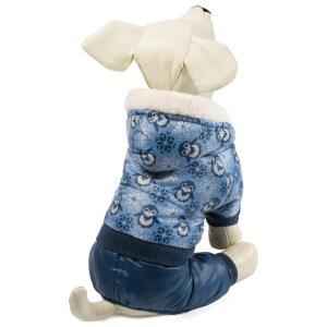 Комбинезон зимний для собак Triol XL, размер 40см.