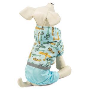 Костюм-дождевик для собак Triol Самолеты S, размер 25см.