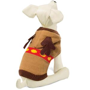 Свитер для собак Triol Рождественский Олень L, размер 35см.