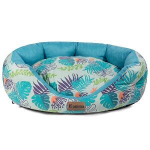 Лежак для собак и кошек Гамма Тропики, размер 44х36х15см.