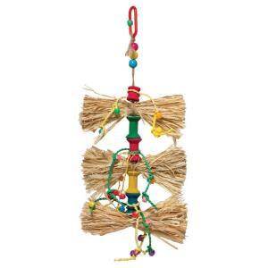 Игрушка для птиц Triol Бантики, размер 22/26х14см.