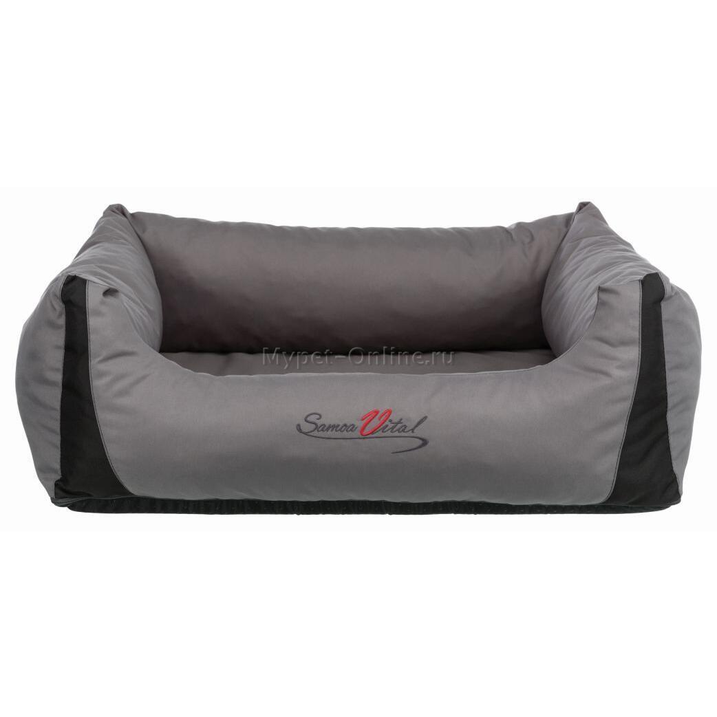 Лежак с бортиком для собак и кошек Trixie Samoa Vital, размер 65х50см. - Интернет зоомагазин MyPet-Online.ru
