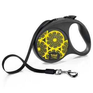 Поводок-рулетка для собак Flexi Joy Lemon S S