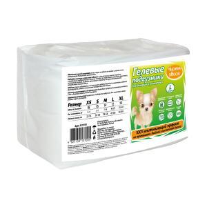 Подгузники для собак Чистый Хвост, размер  L, 12 шт.