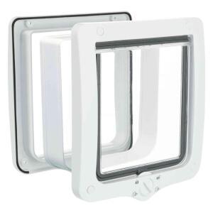Дверца для кошек и собак Trixie 4-Way Flap Door, размер 24х28см., белый