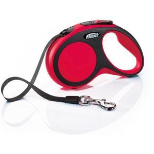 Рулетка для собак Flexi New Comfort S Tape, красный
