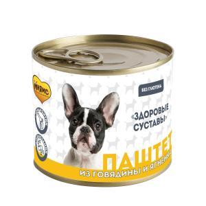 Корм для собак Мнямс Здоровые Суставы, 200 г, говядина с ягненком