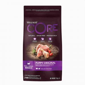 Корм для собак Wellness Core, 1.55 кг, Индейка и курица