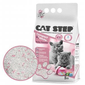 Наполнитель для кошачьих туалетов Cat Step, 4.2 кг, 5 л