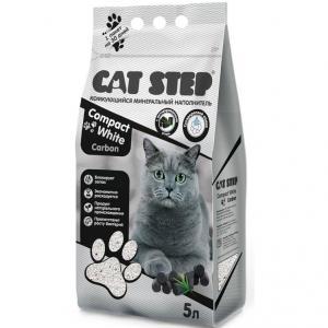 Наполнитель для кошачьего туалета Cat Step, 4.2 кг, 5 л, размер 0.21х0.3х0.4см.