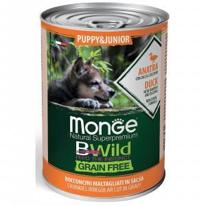 Консервы для собак Monge BWild, 470 г, утка и тыква