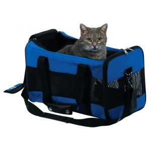 Сумка-переноска для кошек и собак Trixie Jamie S, размер 46х28х26см., синий