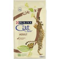 Фотография товара Корм для кошек Purina Cat Chow Adult, 1.5 кг, утка