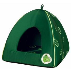 Домик для кошек и собак Trixie Fresh Fruits, размер 40x38x40см., темно-зеленый