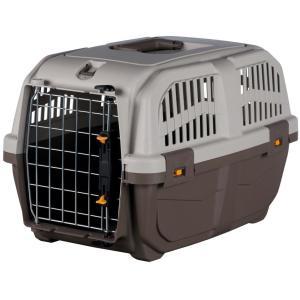 Бокс-переноска для собак и кошек MPS Skudo 1, размер 1, размер 30х32х49см., серо-коричневый
