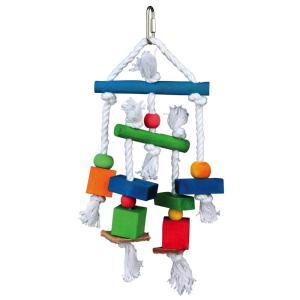 Игрушка для птиц Trixie Wooden Toy, размер 24см.