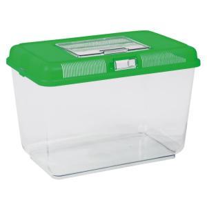 Переноска для рептилий Trixie Transport and Feeding Box XL, размер 38х26х24см., цвета в ассортименте