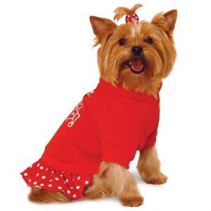 Толстовка для собак Triol Minnie S, размер 23см., красный
