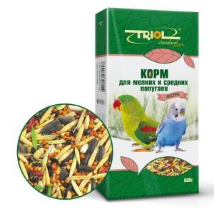 Корм для птиц Triol Standard, 500 г, зерна, семена