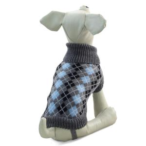 Свитер для собак Triol TR68S S, размер 25см., бежево-серый