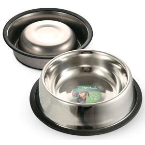 Миска для собак Triol 1502, 200 мл, размер 15.5х15.5х3.5см.