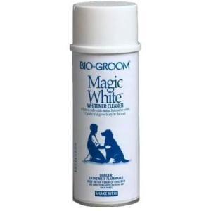 Белый выставочный спрей-мелок для кошек и собак Bio-groom Magic White, 284 мл