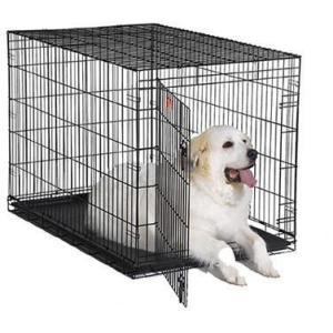 Клетка для домашних животных Midwest iCrate, размер 5, размер 122 х76 х84см., черный