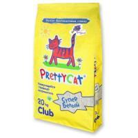 Фотография товара Наполнитель для кошачьих туалетов Pretty Cat Супер Белый, 20 кг