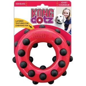 Игрушка для собак Kong Dotz, размер 9см.