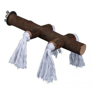 Жердочка для птиц Trixie Perch with Rope S, размер 20см.