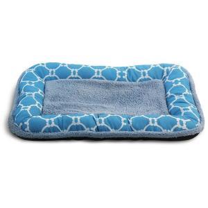 Лежанка для собак Triol Лазурный берег M, размер 70х47х6см., голубой