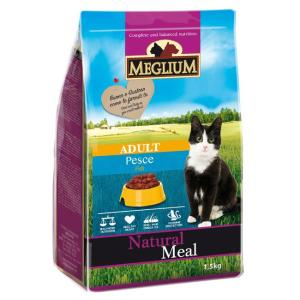 Корм для кошек MEGLIUM Cat Adult, 1.5 кг, рыба