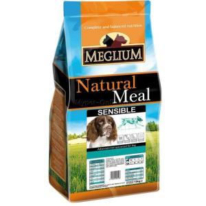 Корм для собак MEGLIUM Dog Sensible, 15 кг, ягненок с рисом