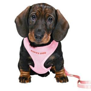 Шлейка для щенков Trixie, розовый